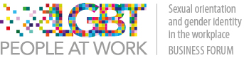 LGBT People at Work Logo